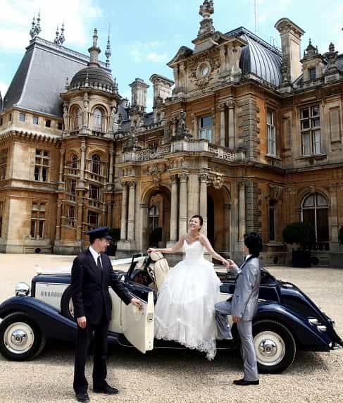 Wedding car hire in Camberley, Surrey