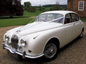 1968 Jaguar Mk2 wedding car